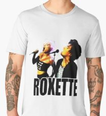 Roxette - 1989 Live on Stage. Stunning desing! Men's Premium T-Shirt