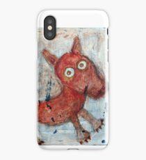 Scotty - Abstract playful fun dog iPhone Case/Skin