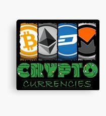 Crypto Market Canvas Print