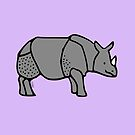 Asian Rhino by Hannah Sterry