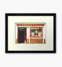 Irish shopfront Framed Print