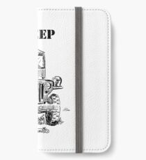 WW2 jeep iPhone Wallet/Case/Skin