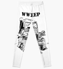 WW2 jeep Leggings