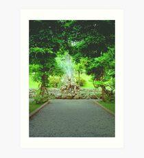 Bantry house gardens Art Print
