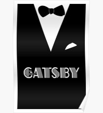 The Great Gatsby - Minimalist Art Poster Poster