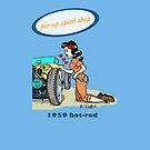 Pin-up speed shop! by RFlores