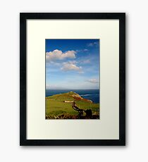Torr Head Framed Print