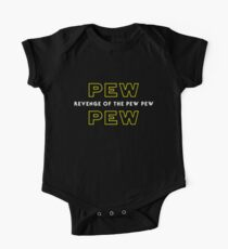 Revenge of the Pew Pew One Piece - Short Sleeve