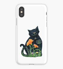 Meadow Flower Kitty iPhone Case/Skin