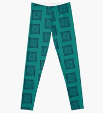 Down With That Sort Of Stuff Word Art Leggings