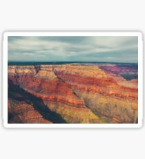 Aerial view of Grand Canyon Sticker