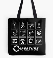 Portal  Video Game Tote Bag