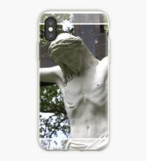 Jesus Hanging on the Cross iPhone Case