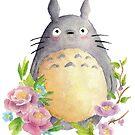 «Mi vecino Totoro» de SandraCasadoArt