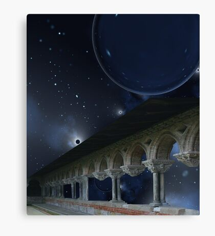 Temple of Solar Winds - Soltis III Canvas Print