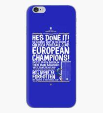 Chelsea FC - Champions League Final Commentary Design iPhone Case