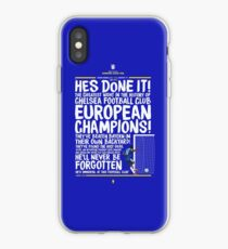 Chelsea FC - Champions League Final Commentary Design iPhone Case