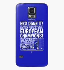 Chelsea FC - Champions League Final Commentary Design Case/Skin for Samsung Galaxy
