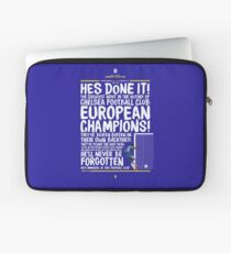 Chelsea FC - Champions League Final Commentary Design Laptop Sleeve