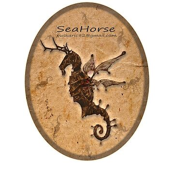 SeaHorse Oval by Iggy-design