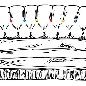 Central Perk Sofa by rakelittle