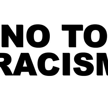 No To Racism Sport Football  by MrAnthony88