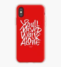 Liverpool FC - You'll Never Walk Alone YNWA iPhone Case