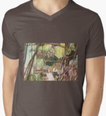 On the Outer ~ Tree Trunk Extracts (flat detail section 2) T-Shirt