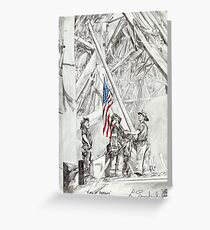 'Flag of Freedom' Greeting Card