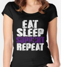 Support 4 Women's Fitted Scoop T-Shirt