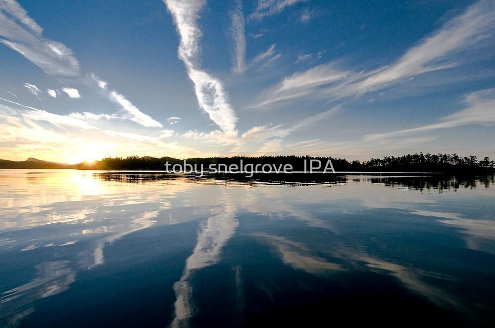 Samuel Island Sunset by toby snelgrove  IPA