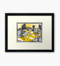 Self Care Framed Print