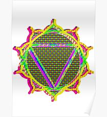 Manipura - Solar Plexus chakra Poster