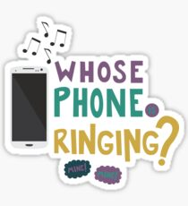 Whose Phone is Ringing!? Sticker