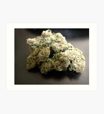 Lámina artística Dank Cookies Buds 420 Cannabis Ganja