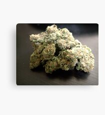 Dank Cookies Buds 420 Cannabis Ganja  Leinwanddruck