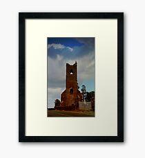 ruined church Framed Print
