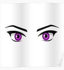 Manga Eyes Poster
