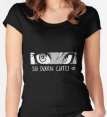 so darn cute Women's Fitted Scoop T-Shirt