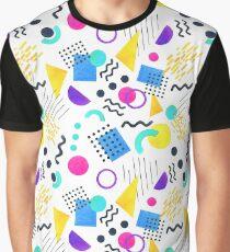 Memphis style Graphic T-Shirt