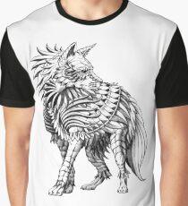 Long Hair Hyena Graphic T-Shirt