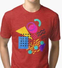 Memphis style Tri-blend T-Shirt