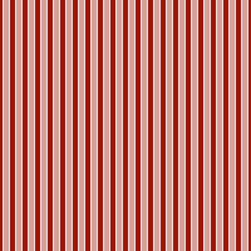 Small White and Dark Salem Red Milk Paint Stripes by oldshaker
