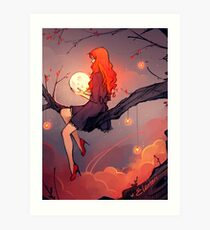 Like the Stars Art Print