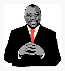 Big Man Tyrone Photographic Print