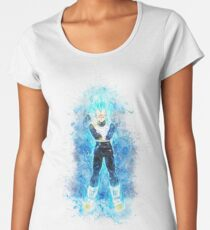 Vegeta God Women's Premium T-Shirt