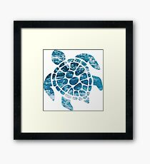 Ocean Sea Turtle Framed Print