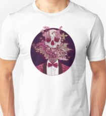 Skull Blossom Unisex T-Shirt