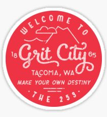 Welcome to Grit City Sticker