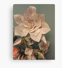 Could thy flowers simply speak Canvas Print